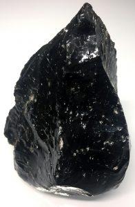 zwarte obsidiaan kristal